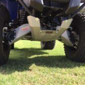 Yamaha GRIZZLY 700 2016-2019 Stick Guards-Rear  Boot Guards Skids